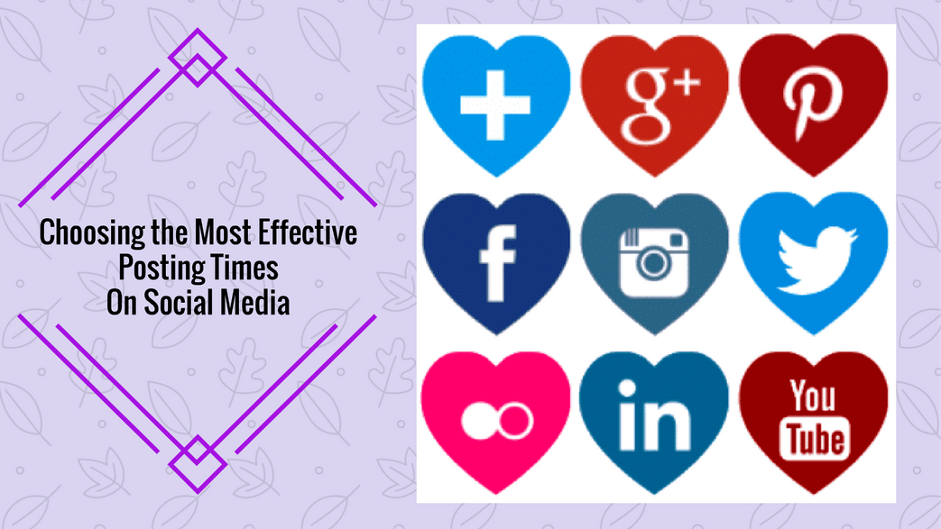 Most Effective Posting Times For Social Media