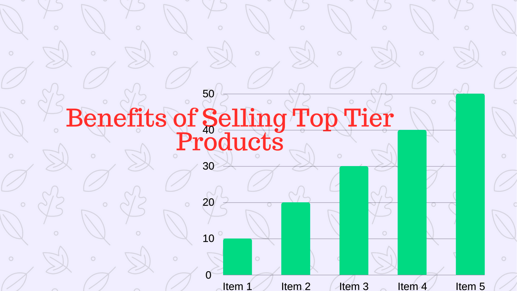 Benefits of Selling Top TierProducts