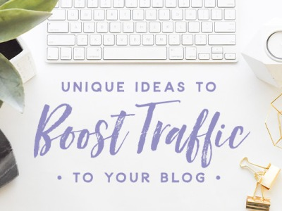 Boost traffic to your blog
