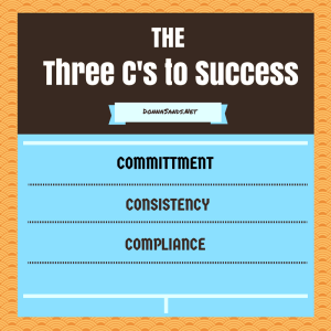 Three C's to Success